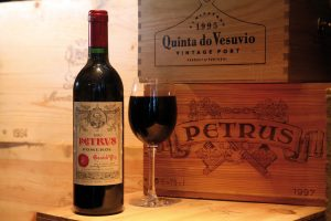 When you are looking for the best places to eat in Swansea, La Parrilla in SA1 is at the top of the list. With a huge selection of wines such this Petus red you will be well catered for.
